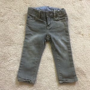 Baby Gap Girls 12-18 Month Gray Skinny Jeans